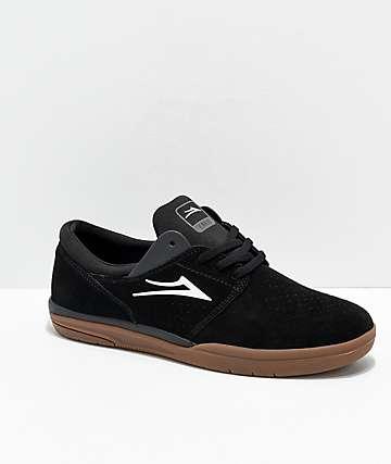 Lakai Fremont zapatos de skate de ante negro