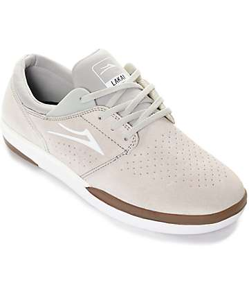 Lakai Fremont zapatos de skate en color crema y goma