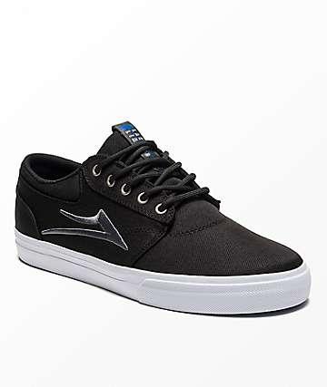 Lakai Griffin Black Canvas Shoes