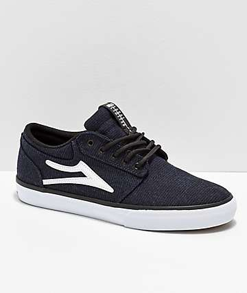 493883a0bac1ab Lakai Griffin Midnight Textile Skate Shoes