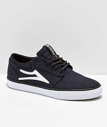 Lakai Griffin Midnight Textile Skate Shoes