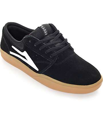 Lakai Griffin XLK Black & Gum Skate Shoes