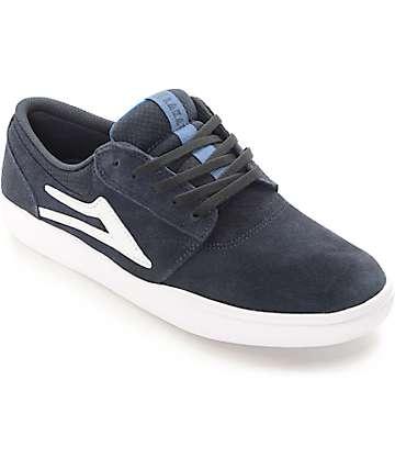 Lakai Griffin XLK Navy Suede Skate Shoes