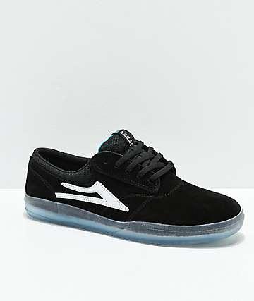 Lakai Griffin XLK zapatos de skate de ante en negro y cristal
