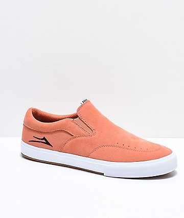 Lakai Owen VLK Mandarin Slip-On zapatos de skate de ante