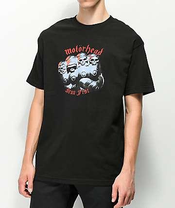 Lakai X Motorhead Iron Fist  camiseta negra