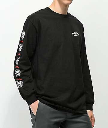 Lakai X Motorhead War Pig Black Long Sleeve T-Shirt