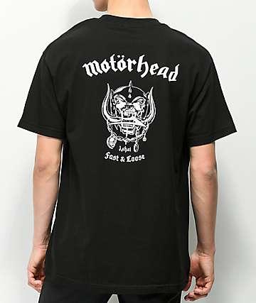 Lakai X Motorhead War Pig camiseta negra
