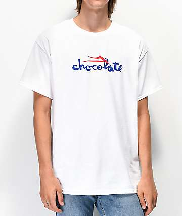 Lakai x Chocolate Flare White T-Shirt