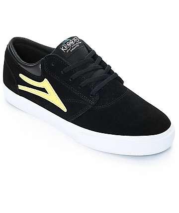 Lakai x Krooked Griffin zapatos de skate en negro
