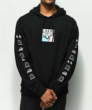 Lakai x Leon Karssen Box Embroidered Black Hoodie