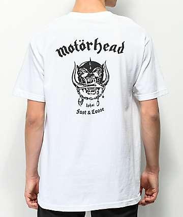 Lakai x Motorhead War Pig White T-Shirt