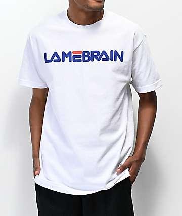 Lamebrain Fi-Lame White T-Shirt