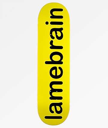 "Lamebrain Logo 8.25"" Skateboard Deck"