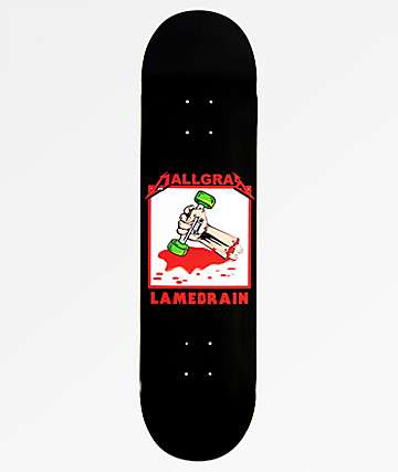 "Lamebrain Mall Grab 8.125"" Skateboard Deck"