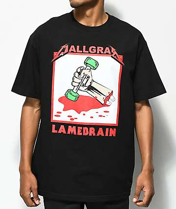 Lamebrain Mall Grab Black T-Shirt