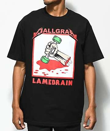 Lamebrain Mall Grab camiseta negra