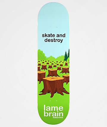 "Lamebrain Tree Hugger 8.25"" Skateboard Deck"