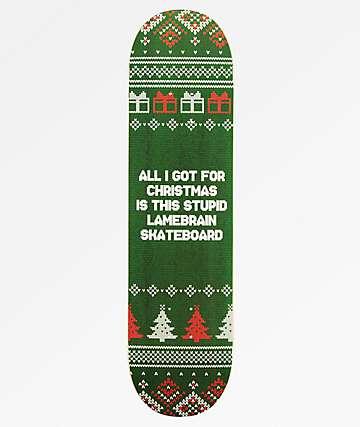 "Lamebrain Worst Gift 8.0"" Skateboard Deck"