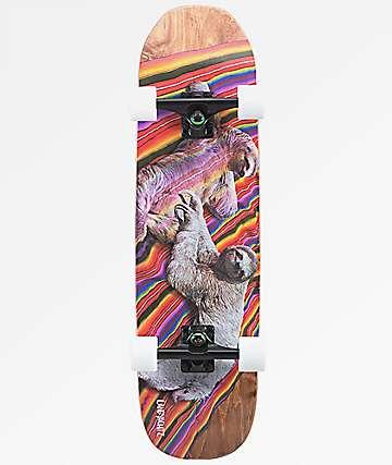 "Landyachtz ATV Sloth 31.5"" Cruiser Complete Skateboard"
