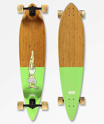 "Landyachtz Bamboo Pinner 44"" Longboard Complete"