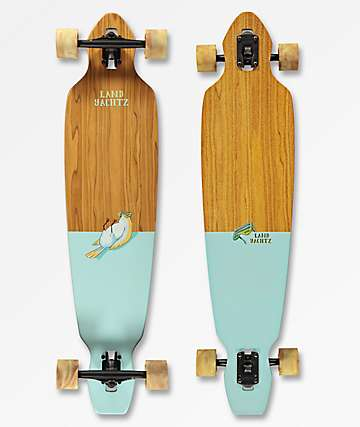 "Landyachtz Battle Axe Chill Bird 40"" Drop Through longboard completo"