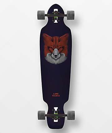 "Landyachtz Battle Axe Fox 38"" Drop Through Longboard Complete"
