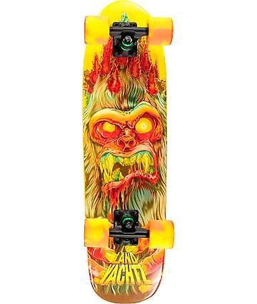 "Landyachtz Dinghy Sasquatch 28.5"" cruiser skateboard completo"