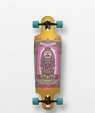 "Landyachtz Drop Cat Illuminacion 33"" Drop Through Longboard Complete"
