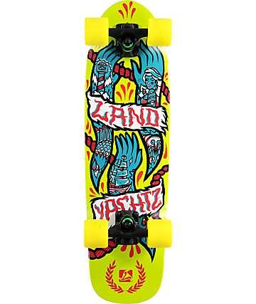 "Landyachtz Hands Dinghy 28.5"" tabla de skate cruiser completo"
