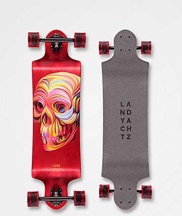 "Landyachtz Switch Skull 35"" longboard completo"