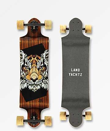 "Landyachtz Switch Tiger 35"" Drop Down Longboard Complete"