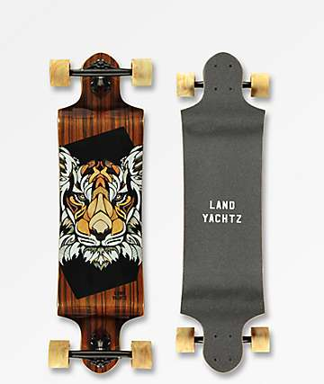 "Landyachtz Switch Tiger 35"" Drop Down Longboard Complete"