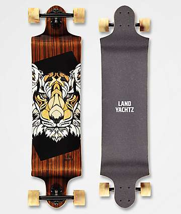 "Landyachtz Switch Tiger 40"" Drop Down Longboard Complete"