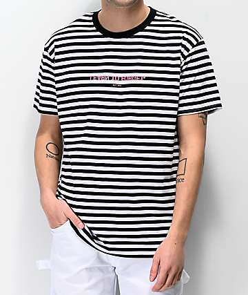 Learn To Forget Magnolia Premium Classic Stripe T-Shirt