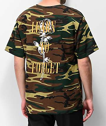 Learn To Forget Nu-Rose Camo T-Shirt