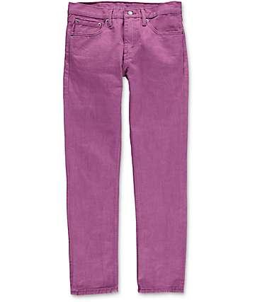 Levi 511 Grape Kiss jeans estrechos en morado