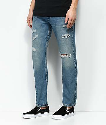 Levi's 502 Broom Tree jeans azules con ajuste regular