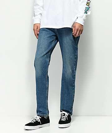 Levi's 502 Surrender jeans con lavado azul y ajuste regular