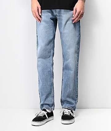 Levi's 502 Tencel Blue Jeans