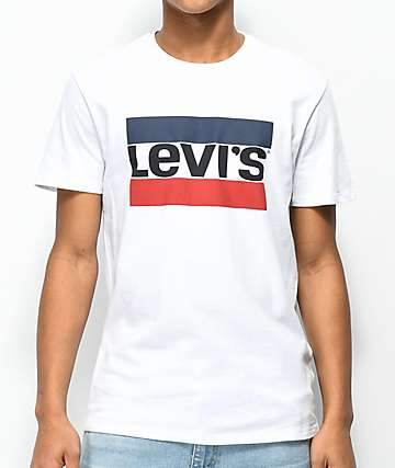 Levi's 84 Sports Logo White T-Shirt