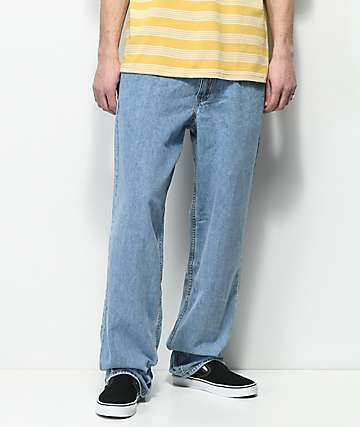 Levi's Baggy Basket Light Blue Denim Jeans