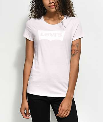 Levi's Batwing Pink T-Shirt