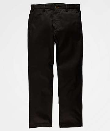 Levi's Chino pantalones negros de trabajo