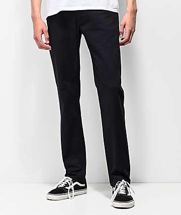 Levi's Skateboarding 511 Slim Caviar Bull Black Denim Jeans