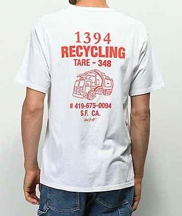 Levi's Skateboarding Graphic camiseta blanca