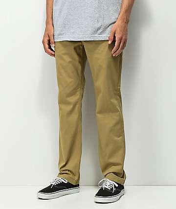 Levi's Skateboarding pantalones de trabajo caqui