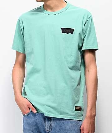 Levis Core Logo Green T-Shirt