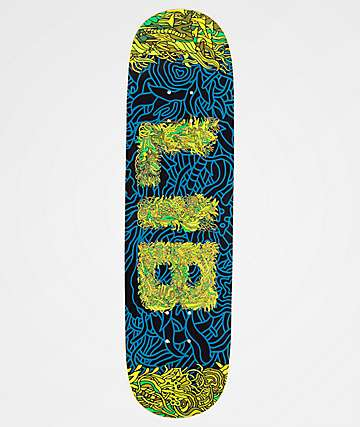 "Lib Tech Seaweed Pill 8.25"" Skateboard Deck"