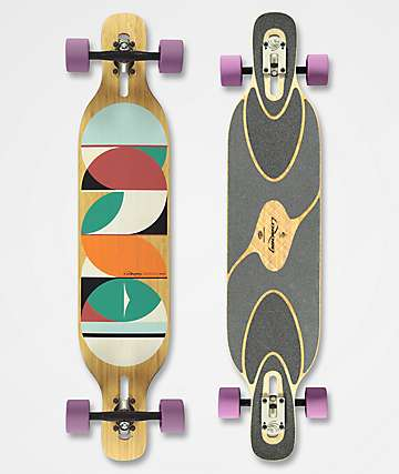 "Loaded Dervish Sama 42.8"" Drop Through longboard completo"